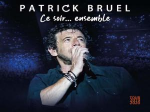 Courants d'Air, PATRICK BRUEL,UN COFFRET CD DVD POUR REVIVRE LA MAGIE DE SES CONCERTS PARISIENS
