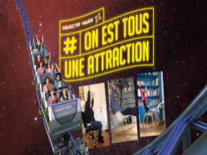 Courants d'Air, LE FUTUROSCOPE LANCE LE CHALLENGE « OBJECTIF MARS »